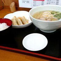 倉吉市にある鳥取で人気の牛骨ラーメン店 いのよしのメニュー情報は 牛の旨みとコクがしっかり詰まったしおラーメンも実食!