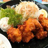 鳥取市福部町湯山にある砂丘会館のレストランのメニュー情報は ジューシーで肉汁があふれる大山ハーブ鶏唐揚げ定食も実食!