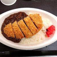 鳥取砂丘 こどもの国のランチ情報まとめ 鹿野町のいのしし肉を使ったいのししカレーカツのせも実食!