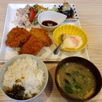鳥取大丸のレストラン お食事キンサッタのメニューは 幻の黒豚ととりこ豚のヒレカツ定食も実食!