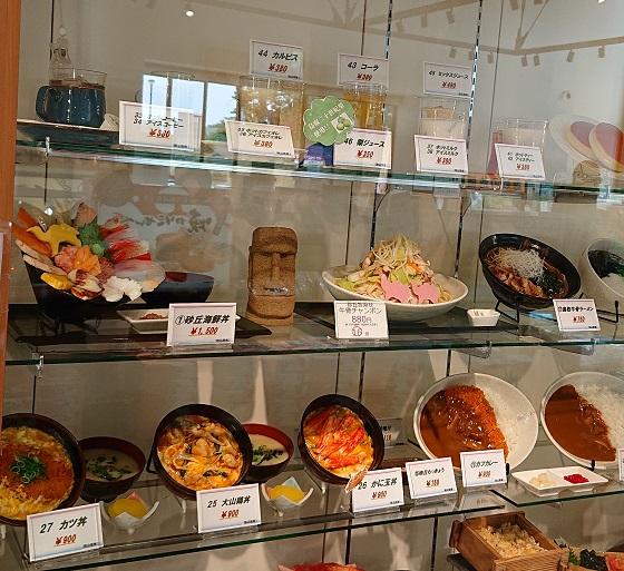 砂丘センター レストラン ランチ メニュー