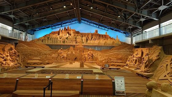 砂の美術館 混雑
